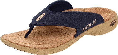 SOLE Men's Casual Flip Flip Flop sandal,Applelation,9 M US
