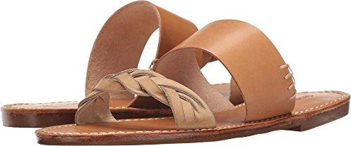 Soludos Women's Braided Slide Sandal, Acorn Brown, 5.5 Regular US