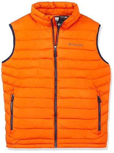 LITE VEST Polyester Orange Orange POWDER Hooded Columbia Men's Backcountry Puffer Jacket YnYfwXOq