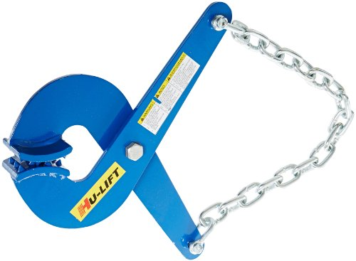 (JLTC PP20 Steel Single Scissor Action Pallet Puller, 5000 lbs Capacity, 19