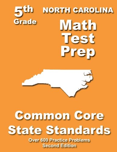 North Carolina 5th Grade Math Test Prep: Common Core Learning Standards