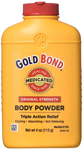 Gold Bond Medicated Body Powder Original Strength 4 - Powder Ingredients Gold Bond