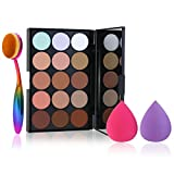 Contour Palette, ETEREAUTY 15 Colors Cream Contour Kit and Highlight Makeup