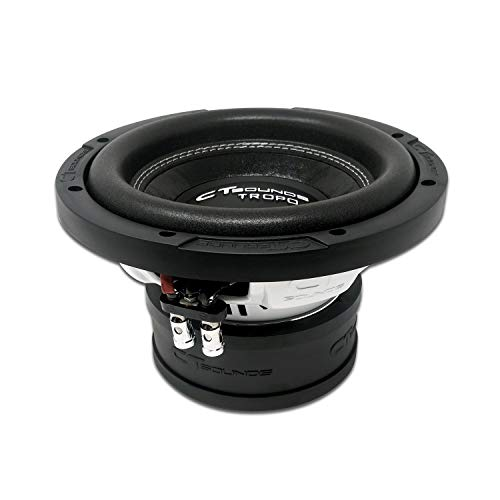 CT Sounds Tropo 8 Inch Car Subwoofer 250w RMS Dual 2 Ohm