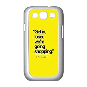 Samsung Galaxy S3 9300 Cell Phone Case White Mean Girls OJ428985