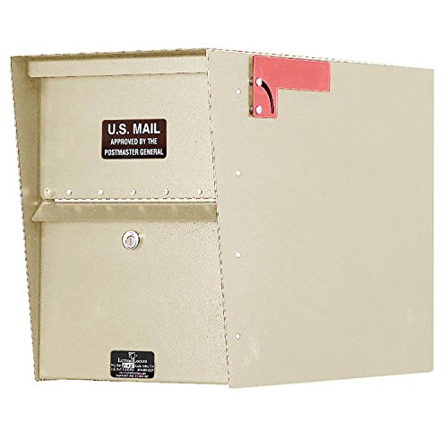 (Jayco LLA1STD Standard Aluminum Letter Locker Mailbox Tan )