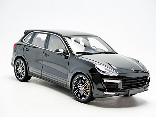 Amazon.com: Minichamps 2014 Porsche Cayenne Turbo S, metallic black: Toys & Games
