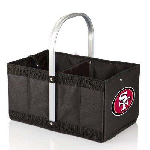 Frame Store San Francisco - NFL San Francisco 49Ers Urban Market Basket, Black