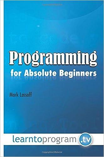 Resultado de imagen de Programming for Absolute Beginners