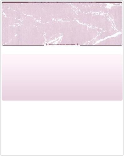 (Business Voucher Check Stock - Versacheck Refills - 500 Sheets, Check on Top, Burgundy Marble)