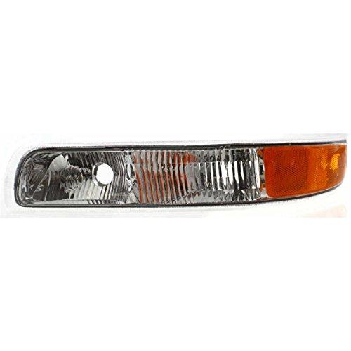 Diften 116-A0254-X01 - New Parking Light Corner Side Marker Park Lamp Set of 2 Left & Right Chevy Pair