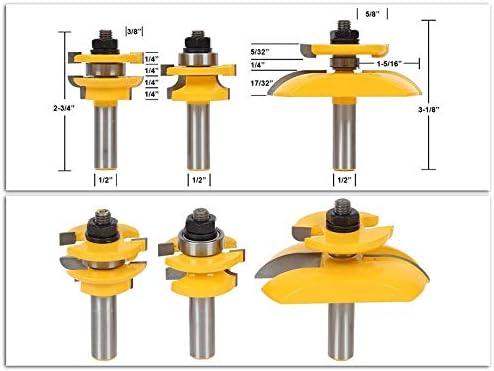 without HWW-Drills, 3pcs/set 12.7mm 1/2