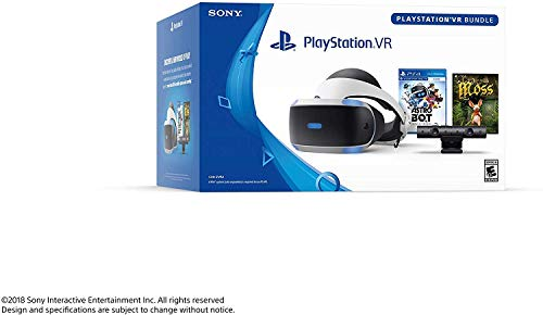 Playstation VR - Astro BOT Rescue Mission + Moss Super Bundle: Playstation VR Headset, Playstation Camera, Demo Disc 2.0, Astro BOT Rescue Mission + Moss Game 4