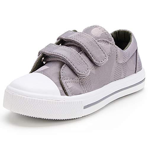 KomForme SBG027-8M-US Toddler Kids Sneakers Grey]()