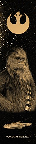 Chewbacca Star Wars Bookograph Metal Bookmark