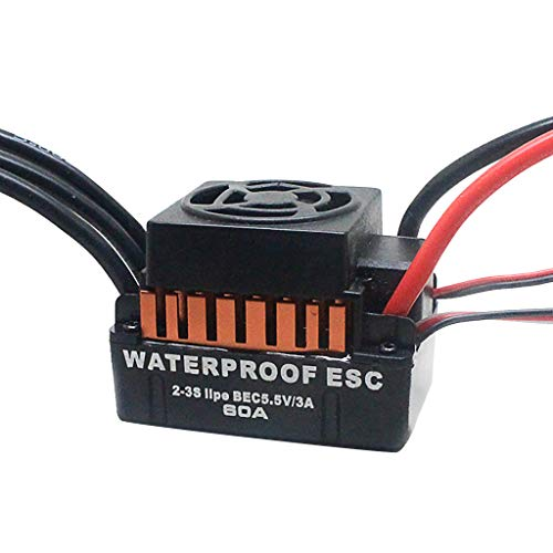 DDLmax RC Car Accessories, Waterproof B3650 4300KV Brushless Motor w/ 60A ESC Combo Set for 1/10 RC Car by DDLmax (Image #6)