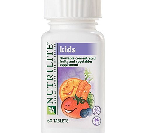 NUTRILITE Kids Chewable Concentrated Fruits and Vegetable...