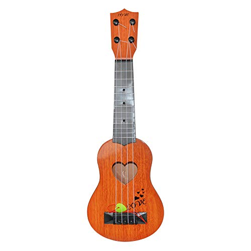 Clearance Sale!DEESEE(TM)Beginner Classical Guitar Ukulele Educational Musical Instrument Toy for Kids (Orange)]()