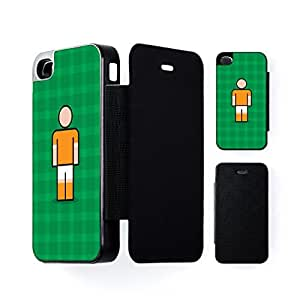 Blackpool Black Flip Case for Apple? iPhone 4 / 4s by Blunt Football + FREE Crystal Clear Screen Protector