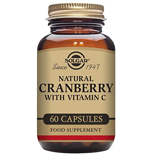 Solgar – Natural Cranberry with Vitamin C, 60 Vegetable Capsules For Sale