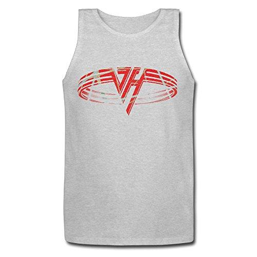Mens Van Halen Logo 1984 Hot For Teacher Classic Tank Top (Van Halen Womens Top)