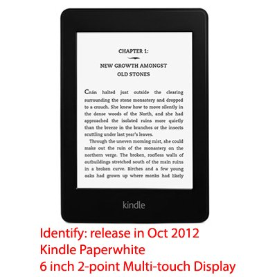 Winter Peace Design Protective Decal Skin Sticker for Amazon Kindle Paperwhite eBook Reader (2-point Multi-touch)