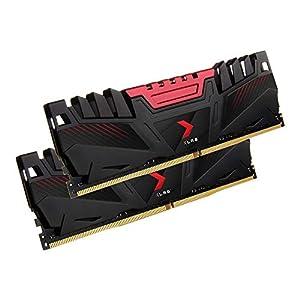 PNY 16GB (2x8GB) XLR8 Gaming DDR4 3200MHz Desktop Memory RAM Kit – (MD16GK2D4320016AXR)