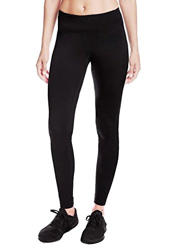Yogipace Women's Water Resistant Fleece Lined Thermal Tights Winter Running Cycling Skiing Leggings with Zippered Pocket