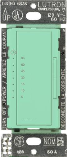 UPC 027557290388, Lutron MA-T51-SG Maestro Countdown Timer, Sea Glass