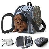 Sherpa 56330 Eva Pop Tote Pet Carrier, Grey, My Pet Supplies