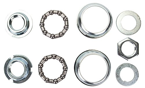 Sunlite Bottom Bracket Set, 24 TPI / 68mm, Silver