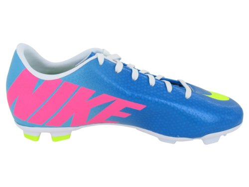 Nike  Jr Mercurial Victory Iv Fg,  Unisex-Kinder Gymnastikschuhe neptune blue/volt/pool blue/pink flash