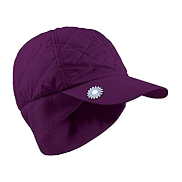 39ca616a Surprizeshop Women's Adjustable Quilted Winter Golf Cap, Purple, One Size:  Amazon.co.uk: Sports & Outdoors