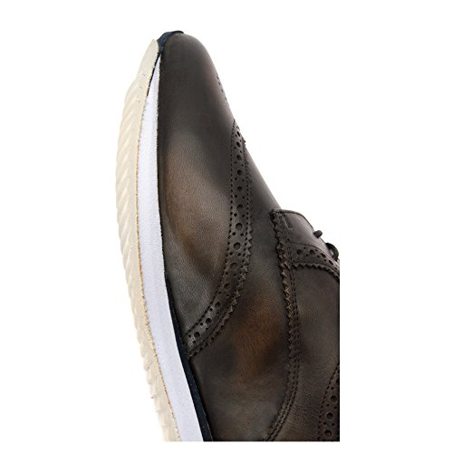 Hardy Mens Magnus Mode Sneakers Svart