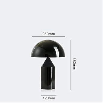 Lámpara LED de diseño de hierro hongo nórdico led. Luz LED Lámpara ...