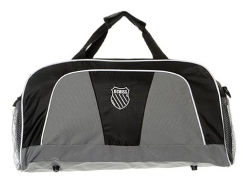 Price comparison product image (KS60341) K-Swiss Baseline Sports Duffle Bag in Black
