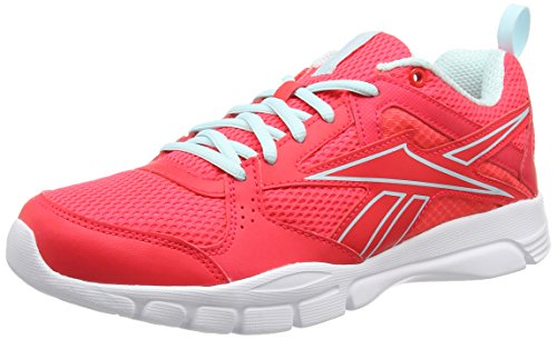 Reebok Trainfusion 5.0, Chaussures de Fitness Femme Rose (Neon Cherry/Cool Breeze/White)
