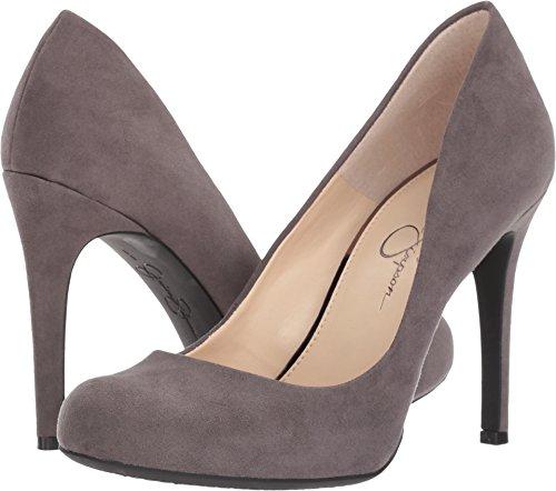 Jessica Simpson Women's Calie Really Grey Microsuede (Suede Platform Pumps)