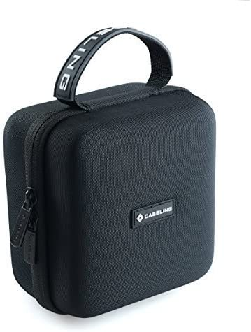 1 /& 2 Cables. Caseling Hard Case protection for Bose SoundLink Color II Wireless Portable Speakers Mesh Pocket for Charger