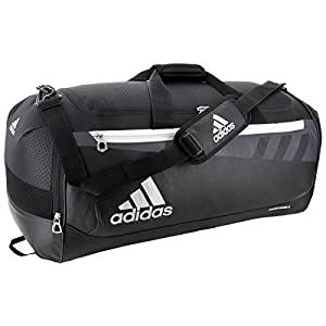 adidas Team Issue Duffel Bag, Black, Medium