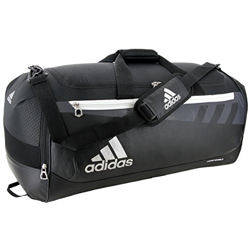 adidas Team Issue Duffel Bag, Black, -