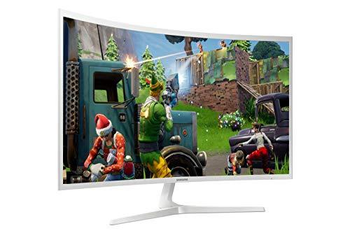 New Samsung Curved Full HD LCD Monitor Ultra-Slim Eco-Saving Wide Angle HDMI