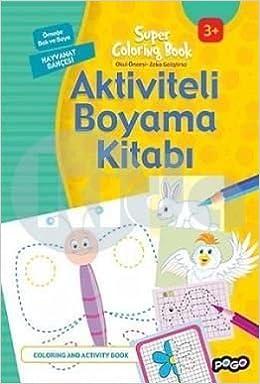 Aktiviteli Boyama Kitabi Hayvanat Bahcesi Kolektif