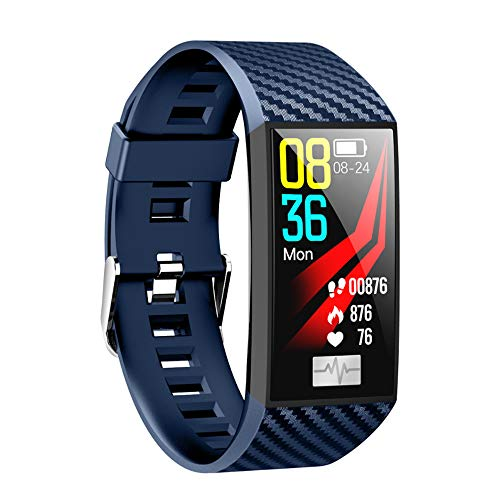 (DT58 Color Screen Smart Bracelet ECG Blood Pressure Detection Weather Forecast Multi-Sports Mode Background Custom Heart Rate)