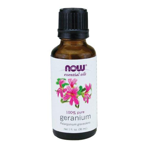 Now Foods huile de géranium d'Egypte, 1 once