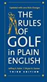img - for The Rules of Golf in Plain English, Third Edition book / textbook / text book