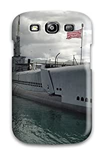 IVQaKMf2109Mdfkv CharlesRaymondBaylor Awesome Case Cover Compatible With Galaxy S3 - Submarine