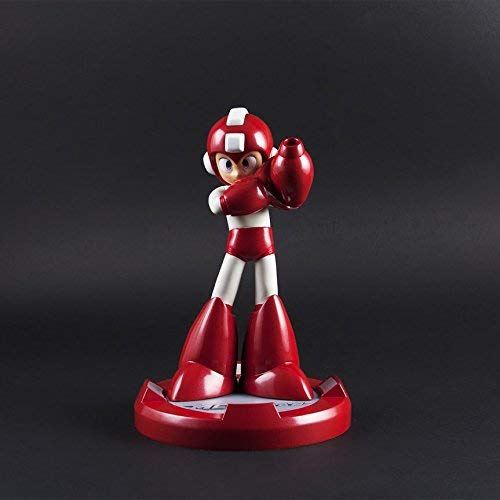 SDCC 2016 Exclusive Capcom Mega Man Anniversary Statue (Limited Edition Rush Red Version) -