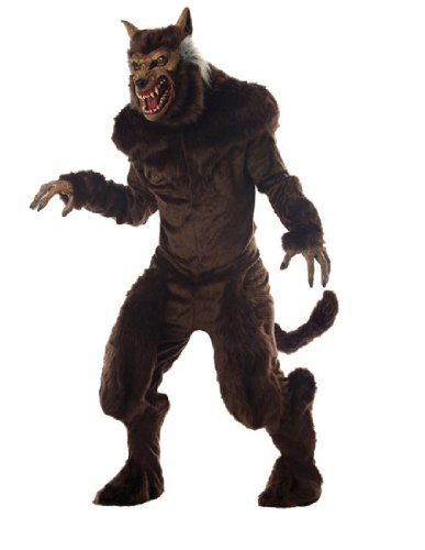 Deluxe Werewolf Child Costume - Morris Deluxe Werewolf Costume Standard Brown