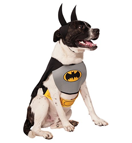 Rubie's Dc Comics Pet Costume, Classic Batman, Large, Multicolor - http://coolthings.us